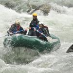 rafting with guide Clay