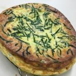 Fresh herb and cheese quiche, French Apple pie, Thai red curry, Belgian waffle, Chicken Wild Ric
