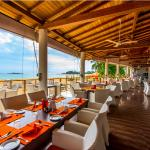 Melt restaurant and view of the Indian Ocean