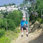 The Mt. Solaro chairlift