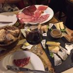 Pain Vin Fromage Foto