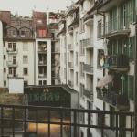 Blick in Hotelinnenhof