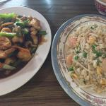 Mongolian Chicken and Special Fried Rice