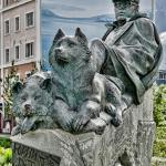 Памятник писателю Юрию Рытхэу