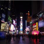 Times Square sob meu prisma