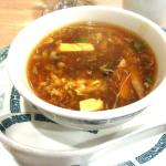 Hot and Sour Soup, Grand China Chinese Restaurant, Placerville, Ca