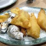 Fried Prawns, Cheese Wrapped Won Tons, Foil Wrapped Chicken, Grand China Chinese, Placerville, C