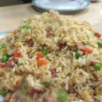 Pork Fried Rice, Grand China Chinese Restaurant, Placerville, Ca