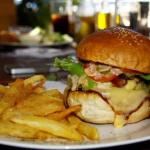 Bacon and Cheese burger @ Kilimanjaro Cafe