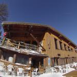 En redescendant en ski sur la Norma, une petit pause au grizzli !