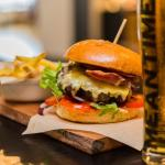 2 for 1 burgers Wednesdays from 5PM