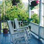 Our Front and Back Porches offer perfect ambience for relaxing with a morning coffee or glass of