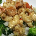Green Jade (Lobster and Shrimp)