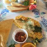 Party's Wicker Cafe is a hidden away jewel, and was worth the effort in finding the restaurant.