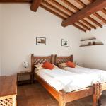 """Camera da letto dell'appartamento """"Il Cielo"""" luminoso e con una bellissima terrazza panoramica"""