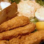 FRIDAY FISH FRY Buffet with homemade breaded cod. All You Can Eat!