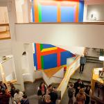 The new Sol LeWitt in the atrium. Photo by Kate Drew Miller.