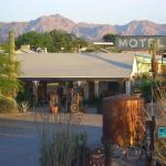 an historic 1942 motel set in the McMullen Valley