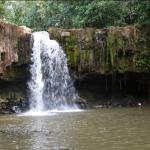 sen monorom water fall , Mondolkiri