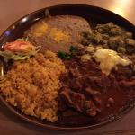 "This dish ""tres compadres"" is amazing!! I've had it twice, and am planning on having it again so"