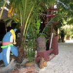 Eingang vom Strand