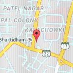 google map of hotel rahi nashik