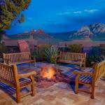 Enjoy the sunset and evenings by the firepit