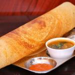 South Indian traditional Dosas