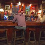Main bar on first floor.