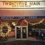 Welcome to Twenty-five Main Cafe
