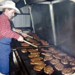 Grilling Steaks, Bar D Chuckwagon, Durango