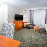 Our one and two bedroom suites have private bedrooms.