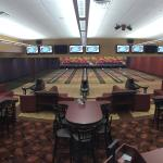 The Suite Lanes - 8 bowling lanes separate from the main section of lanes