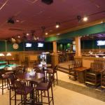 The Breakroom - Separate room with pool tables, darts and other games.  Can accommodate 100+ peo