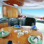 Catamaran Lavezzi Interior