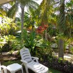 Beautifully planted tropical grounds. Excellent outdoor furniture