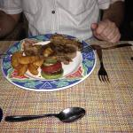 Steak d'entre cote au steak house