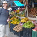 so many wonderful fruit and veg stalls