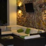 Lounge de la piscina