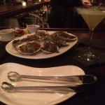 Oysters Rockefeller and Pineapple Martini