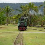 The Bally Hooley steam train, Port Douglas runs regular weekly trips