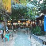 A balinese style cafe