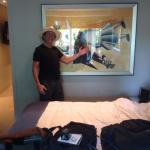 2 Bedroom , beautiful art work.