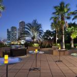 Outdoor Pool Deck – Social Event Setup