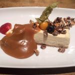 Cheesecake and treacle