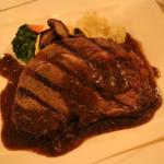 Rib Eye Steak with Pepper Sauce @ 353,000IDR @ Orzo