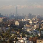 Aussichtspunkt in Santiago recht schön