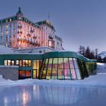 Kronenhof Winter Exterior