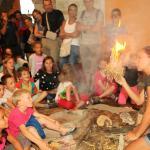 Atelier Feu musée préhistoire tautavel