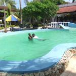 My first swimming lesson at Jangwani Swimming Pool